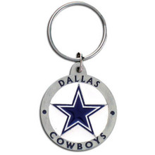 Dallas Cowboys Logo Key Chain NFL Football SFK055Z