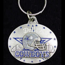 Dallas Cowboys Design Key Chain NFL Football SFK056