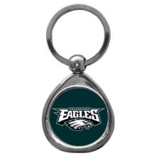 Philadelphia Eagles Domed Key Chain NFL Football SFK065C