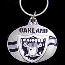 Oakland Raiders Design Key Chain NFL Football SFK126