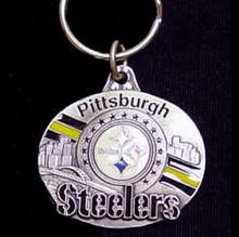 Pittsburgh Steelers Design Key Chain NFL Football SFK161