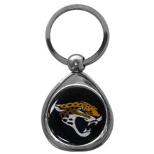 Jacksonville Jaguars Domed Key Chain NFL Football SFK175C