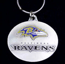 Baltimore Ravens Design Key Chain NFL Football SFK181