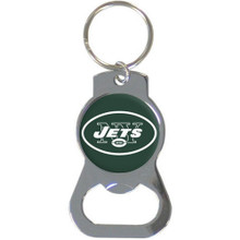 New York Jets Bottle Opener Key Chain NFL Football SFKB100