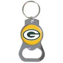 Green Bay Packers Bottle Opener Key Chain NFL Football SFKB115