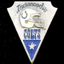 Indianapolis Colts Arrowhead Pin NFL Football SFP052