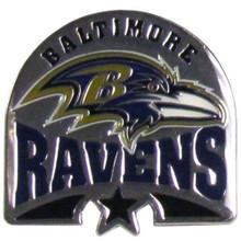 Baltimore Ravens Team Pin NFL Football SFP180C