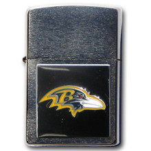 Baltimore Ravens Zippo Lighter NFL Football ZFL180