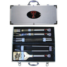 Texas Tech Raiders BBQ Set 8 pc NCCA College Sports BBQC30B