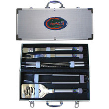Florida Gators BBQ Set 8 pc NCCA College Sports BBQC4B