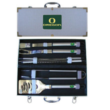 Oregon Ducks BBQ Set 8 pc NCCA College Sports BBQC50B
