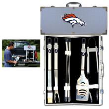 Denver Broncos 8 pc BBQ Set