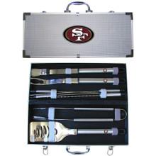 San Francisco 49ers 8 pc BBQ Set