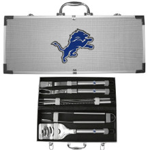 Detroit Lions 8 pc BBQ Set