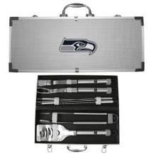 Seattle Seahawks 8 pc BBQ Set