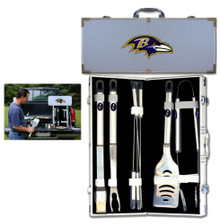 Baltimore Ravens 8 pc BBQ Set