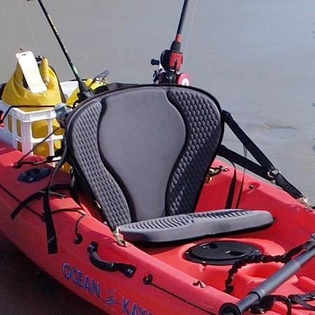 Kayak fishing seat gts pro for Kayak fishing seats