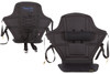 High Back Kayak Seat with Lumbar Support Front and back