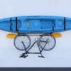 J-Hook Kayak Hanger with Bicycle