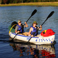 """SportKayak 370 - 12'6"""" Inflatable Kayak Package"""