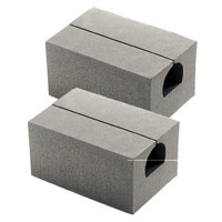 "6"" Standard Canoe Replacement Blocks/Pair"