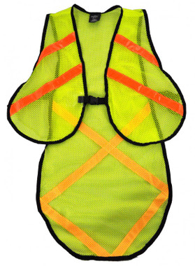 Extended Length Cycling Safety Vest - MainImage