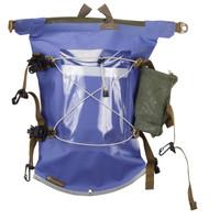 Aleutian Kayak Deck Bag with Water Bottle Holder - Blue