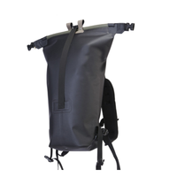 Big Creek Dry Backpack Bag - Black (RightView)