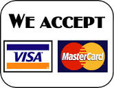 We accept all major forms of payment