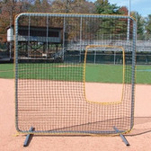 Pro-Gold Softball Protective Screen 7'x7' Cut-Out Replacement Net