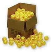 "Markwort 9"" Pliable Plastic Baseballs (100 Count)"