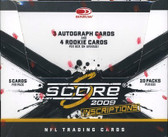 2009 Score Football Factory Sealed Hobby Box