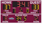 Indoor Basketball, Volleyball & Wrestling Scoreboard