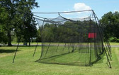 Standard Batting Cage Package 40Lx12Wx10H #36 net and frame