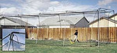 ATEC 40' Backyard Batting Cage Net & Hardware Kit