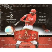 2006 Flair Showcase Baseball Hobby Box