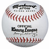"Markwort Atom 8.5""  Youth Size Khoury League Baseballs"