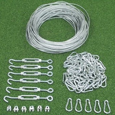 Indoor Batting Cage/Netting Installation Kit