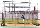 Replacement Net For Collegiate Fixed Backstop Batting Cage