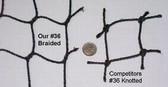 #36 Braided PE Netting  (55'L  x 14'W x 12'H)