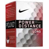 Nike Power Distance Long Golf Balls (dozen)