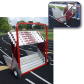 2-Wheel Hurdle Cart