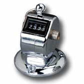 Markwort Hand Lap/Pitch Counter with Stand