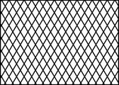 14' x 14' Batting Tunnel Cage Divider Net