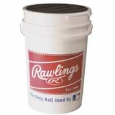 Rawlings Empty Baseball Bucket