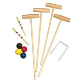 Champion Sports Classic 4-Plaer Croquet Set