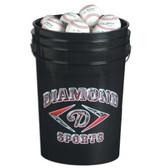 Diamond Bucket of DOL-X Practice Baseballs