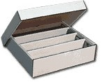 3200 Count Cardboard Storage Box