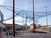 "#60 Gauge Knotted Nylon Netting- 1 3/4""  Baseball/Softball Mesh"