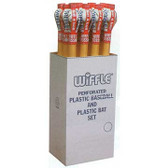 Wiffle Baseball with Bat Set (1 dozen sets)